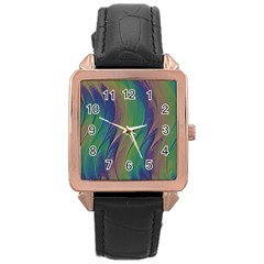 Texture Abstract Background Rose Gold Leather Watch  by Nexatart