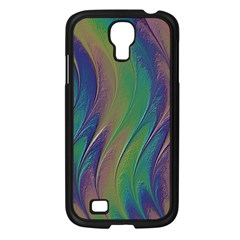 Texture Abstract Background Samsung Galaxy S4 I9500/ I9505 Case (black) by Nexatart