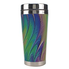 Texture Abstract Background Stainless Steel Travel Tumblers by Nexatart