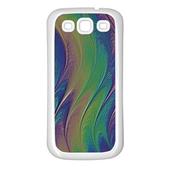 Texture Abstract Background Samsung Galaxy S3 Back Case (white) by Nexatart