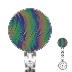 Texture Abstract Background Stainless Steel Nurses Watch by Nexatart