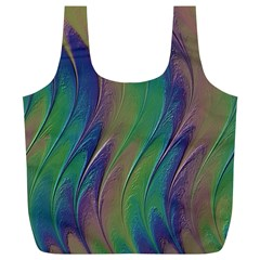 Texture Abstract Background Full Print Recycle Bags (l)  by Nexatart