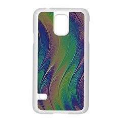 Texture Abstract Background Samsung Galaxy S5 Case (white) by Nexatart