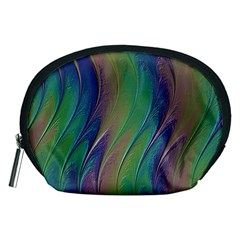 Texture Abstract Background Accessory Pouches (medium)  by Nexatart