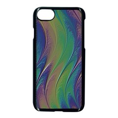 Texture Abstract Background Apple Iphone 7 Seamless Case (black) by Nexatart