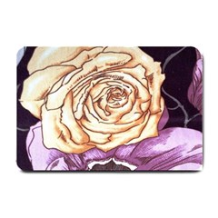 Texture Flower Pattern Fabric Design Small Doormat