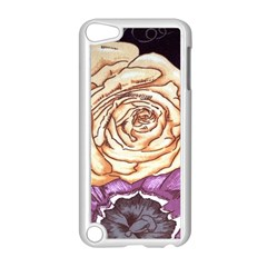 Texture Flower Pattern Fabric Design Apple Ipod Touch 5 Case (white)