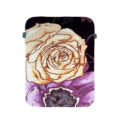 Texture Flower Pattern Fabric Design Apple Ipad 2/3/4 Protective Soft Cases