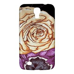 Texture Flower Pattern Fabric Design Samsung Galaxy Mega 6 3  I9200 Hardshell Case