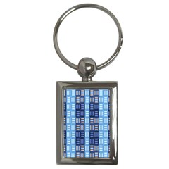 Textile Structure Texture Grid Key Chains (rectangle)  by Nexatart