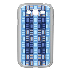 Textile Structure Texture Grid Samsung Galaxy Grand DUOS I9082 Case (White) by Nexatart