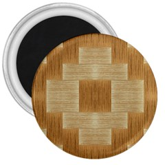 Texture Surface Beige Brown Tan 3  Magnets
