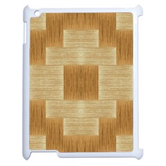 Texture Surface Beige Brown Tan Apple Ipad 2 Case (white)