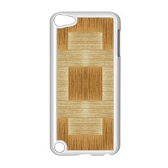 Texture Surface Beige Brown Tan Apple iPod Touch 5 Case (White) by Nexatart