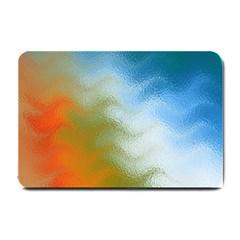 Texture Glass Colors Rainbow Small Doormat