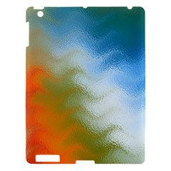 Texture Glass Colors Rainbow Apple Ipad 3/4 Hardshell Case