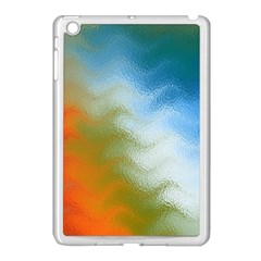 Texture Glass Colors Rainbow Apple Ipad Mini Case (white) by Nexatart
