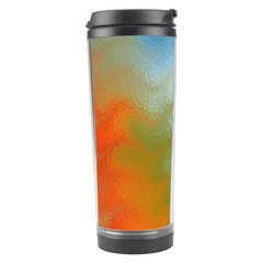 Texture Glass Colors Rainbow Travel Tumbler