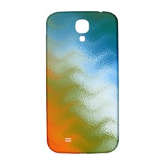 Texture Glass Colors Rainbow Samsung Galaxy S4 I9500/i9505  Hardshell Back Case