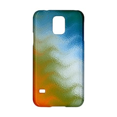 Texture Glass Colors Rainbow Samsung Galaxy S5 Hardshell Case