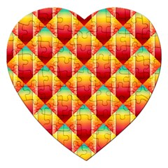 The Colors Of Summer Jigsaw Puzzle (heart)