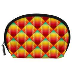 The Colors Of Summer Accessory Pouches (large)
