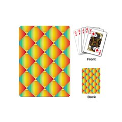 The Colors Of Summer Playing Cards (mini)