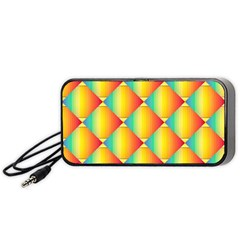 The Colors Of Summer Portable Speaker (black)