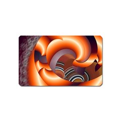 The Touch Digital Art Magnet (name Card) by Nexatart