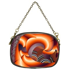 The Touch Digital Art Chain Purses (one Side)  by Nexatart