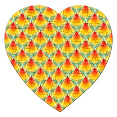 The Colors Of Summer Jigsaw Puzzle (heart) by Nexatart