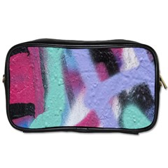 Texture Pattern Abstract Background Toiletries Bags 2 Side
