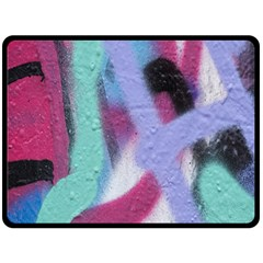 Texture Pattern Abstract Background Fleece Blanket (large)