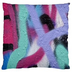 Texture Pattern Abstract Background Large Cushion Case (one Side) by Nexatart