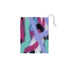 Texture Pattern Abstract Background Drawstring Pouches (xs)  by Nexatart