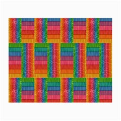 Texture Surface Rainbow Festive Small Glasses Cloth (2 Side)