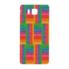 Texture Surface Rainbow Festive Samsung Galaxy Alpha Hardshell Back Case by Nexatart