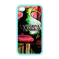 Three Earthen Vases Apple Iphone 4 Case (color)