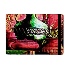 Three Earthen Vases Apple iPad Mini Flip Case by Nexatart