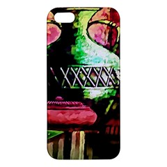 Three Earthen Vases Apple Iphone 5 Premium Hardshell Case