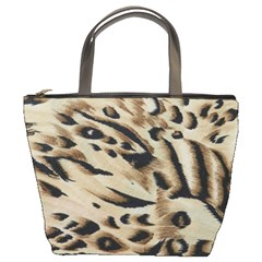 Tiger Animal Fabric Patterns Bucket Bags