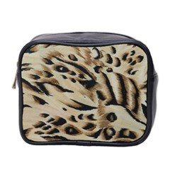 Tiger Animal Fabric Patterns Mini Toiletries Bag 2 Side