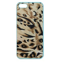 Tiger Animal Fabric Patterns Apple Seamless Iphone 5 Case (color)