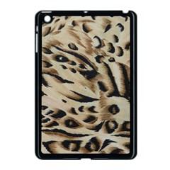 Tiger Animal Fabric Patterns Apple Ipad Mini Case (black)