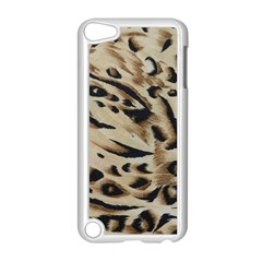 Tiger Animal Fabric Patterns Apple Ipod Touch 5 Case (white) by Nexatart