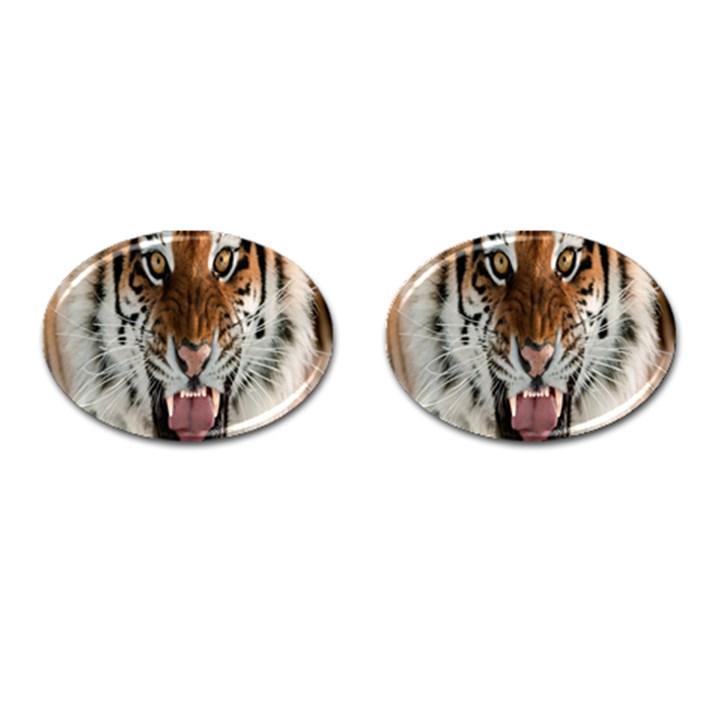 Tiger  Cufflinks (Oval)