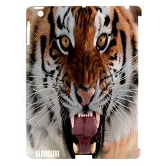 Tiger  Apple Ipad 3/4 Hardshell Case (compatible With Smart Cover)