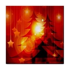 Tree Trees Silhouettes Silhouette Tile Coasters