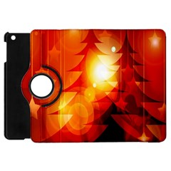 Tree Trees Silhouettes Silhouette Apple Ipad Mini Flip 360 Case