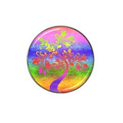 Tree Colorful Mystical Autumn Hat Clip Ball Marker (10 Pack) by Nexatart